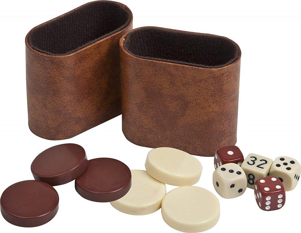 Bello Games Uria Stone Backgammon Dice Sets