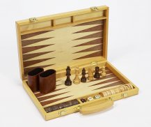 Wooden Backgammon Sets : Bello Games New York, INC