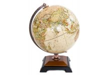 Alexander Raised Relief Globe. Made in The USA