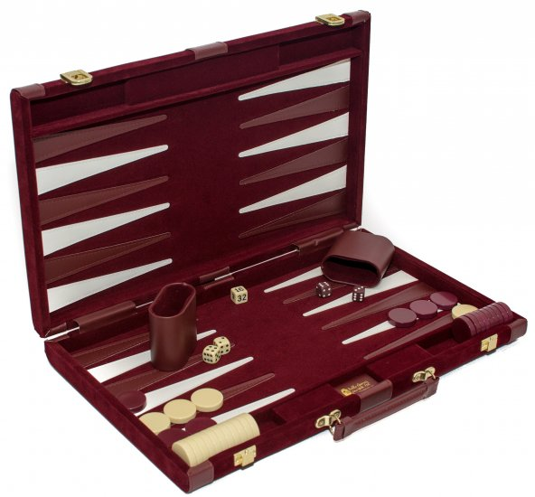 Bleecker Street Designer Backgammon Set - Click Image to Close