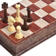 Marble Hill Magnetic Folding Chess Set