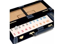 Spring Street Deluxe Rummy Set With Wooden Racks