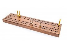 West 12th. Street Pocket Size Cribbage Set with Metal Pegs