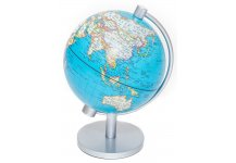 Ocean Blue Globe of The World with Lighting 5 1/2""
