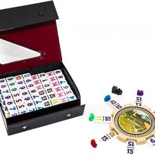 Bello Games Elite Double Fifteen Dominoes Set