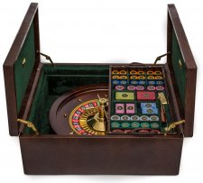 Piazza San Lorenzo Luxury Roulette Set 24K Gold Plated