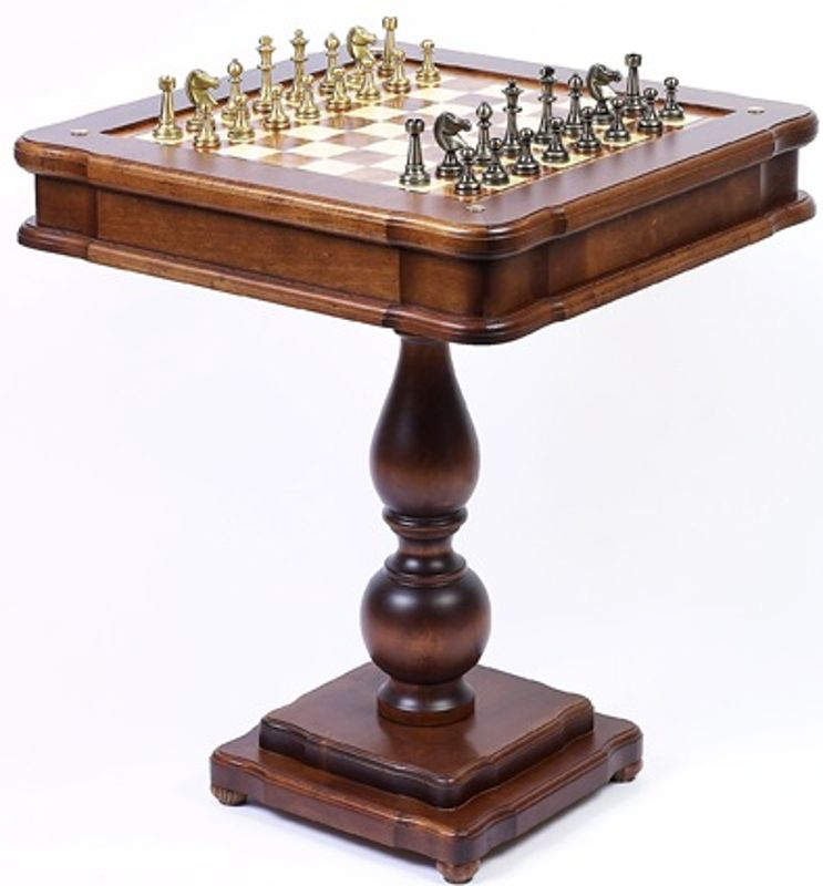 Chess Tables with Chessmen