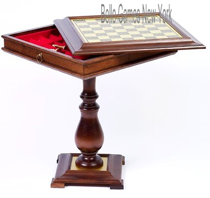 Venezia Chess/Checkers Table from Italy