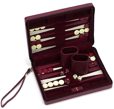 Chelsea Luxury Designer Travel Magnetic Backgammon Set