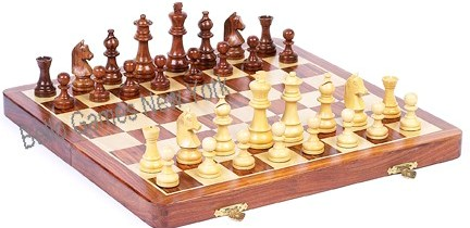 Times Square Deluxe Magnetic Chess Set