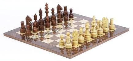 Paramount Staunton Chessmen & Comumbus Board from Spain