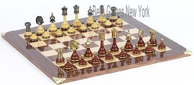 Bello italiano chessmen from italy columbus ave board bello italinano chessmen from italy - Chess board display case ...