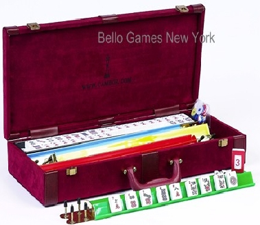 Bello Games Luxury Designer American Mah Jong Set