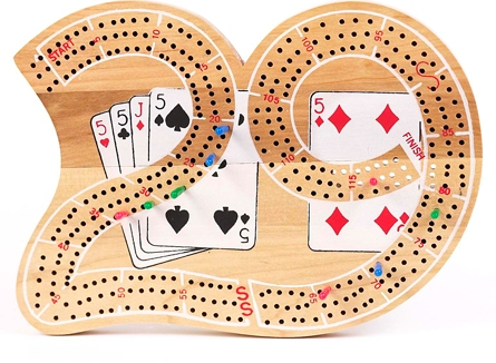 Big 29 Wood Cribbage Board
