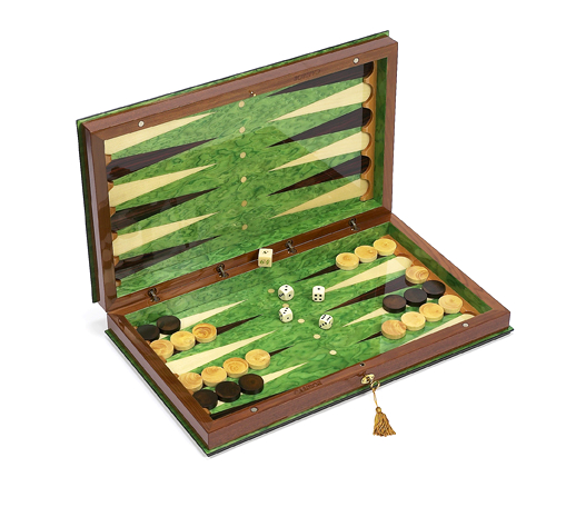 Mirabella Wooden Backgammon Set from Italy