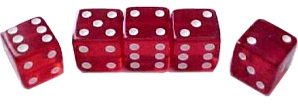 Casino Dice Set