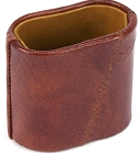 Madison Avenue Genuine Leather Dice Cup