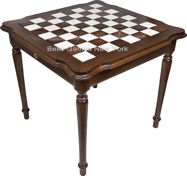 Palazzo Luxury Italian Marble Chess Table from Italy