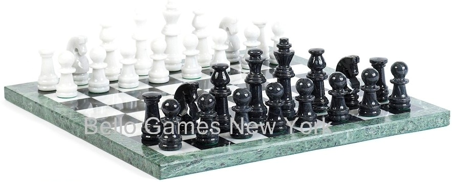Bryant Park Marble Chess Set