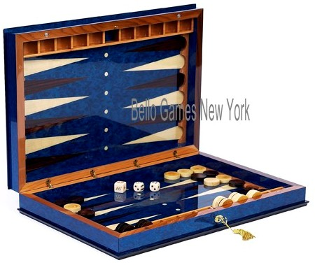 Giovanni Wooden Backgammon Set from Italy