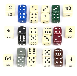 Backgammon Dice Sets