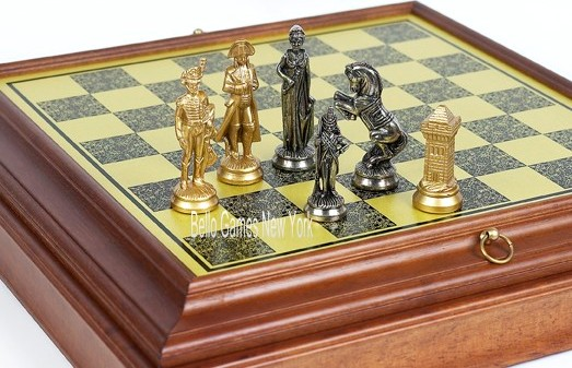 Napoleon Chessmen from Italy