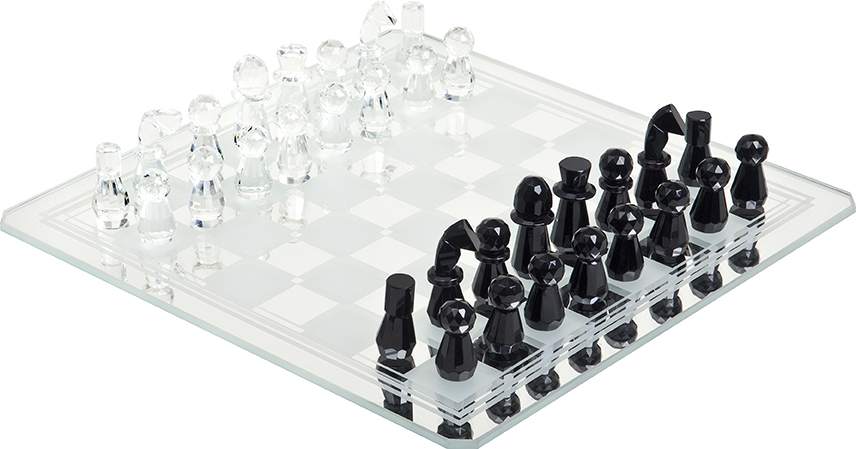 Lenox Hill Crystal Chess Set